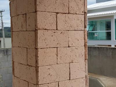 Plaqueta Rustica Branca 02x11,5x24 cm
